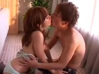 激しすぎるキスとセックスでドロドロになりながら絶頂するカップル