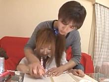 家庭教師がイケメンのヤリチンだったら勉強放棄でエッチしまくり