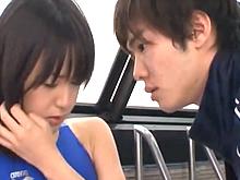 イケメンコーチと美少女スイマーが二人だけの秘密のトレーニングで絶頂