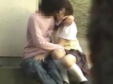彼氏のためならどこでもHしてた青春時代を思い出す学生カップルの野外SEX