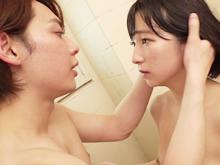 普通の女子大生がイケメンと入浴した結果…狭いお風呂で発情H